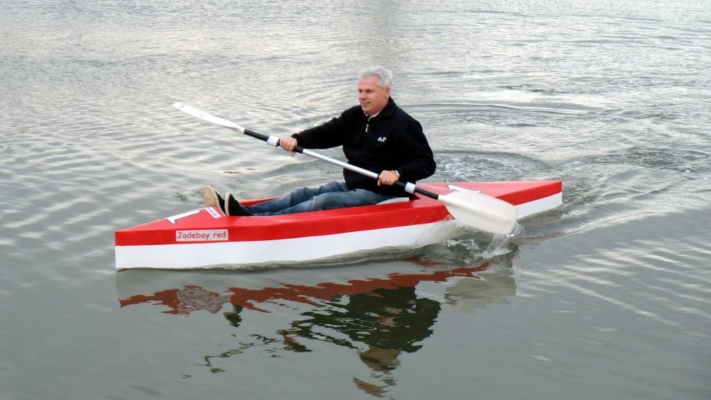 Kartonboot Papier- und Kartonboot Regatta Varel